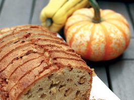 Spiced Apple Pound Cake