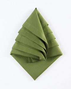 DIY Tree Napkin Tutorial