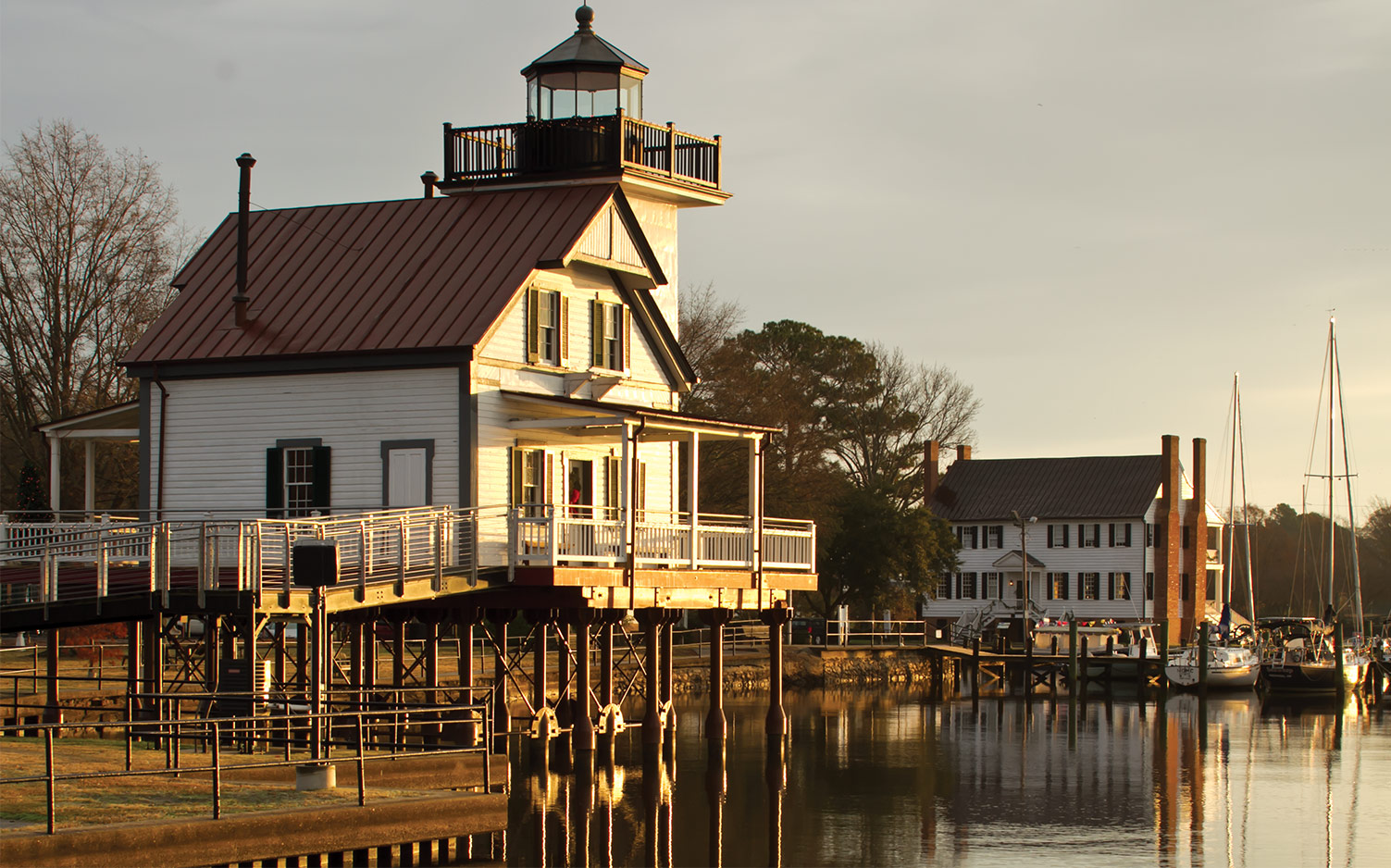 Christmas in Edenton, North Carolina
