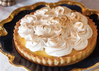 Creamy Orange Tart