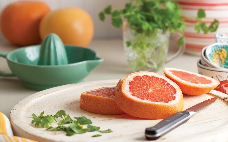 Springtime Citrus: Grapefruit