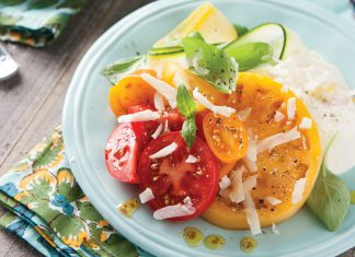 Summer Squash and Tomato Salad