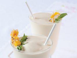 Coconut-Mango Milkshake