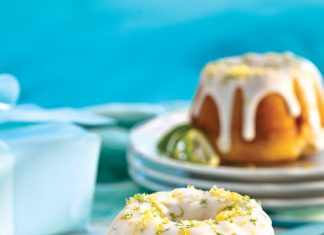 Mini Citrus Bundt Cakes