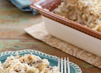 Chicken and Wild RiceCasserole