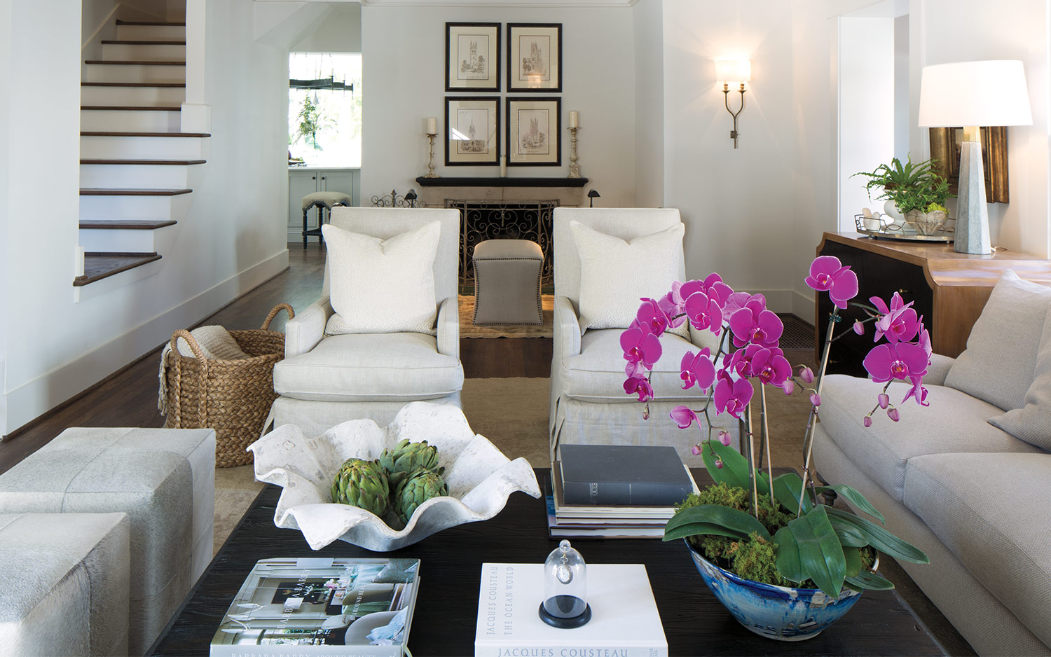 Interiors by Joanna Goodman of Christopher Architecture and Interiors.