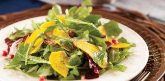 Autumn Salad with Apple Cider Vinaigrette