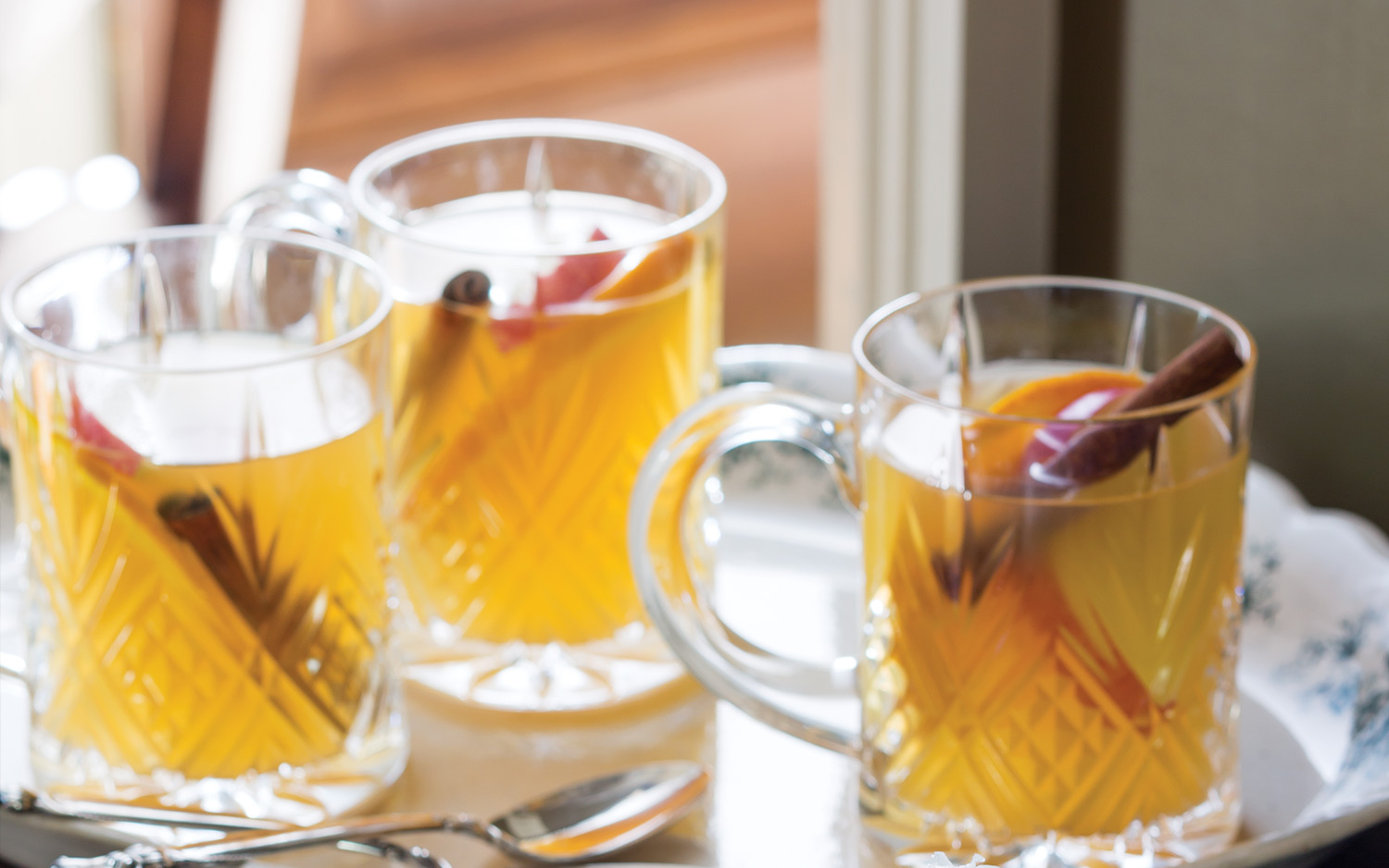Bourbon-Maple Cider