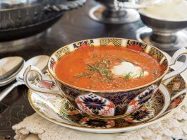 Roasted Red Pepper and Fennel Bisque