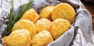 Rosemary Cornbread Muffins