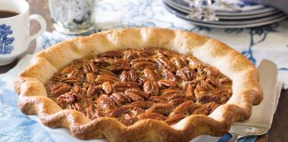 Chocolate Bottom Pecan Pie