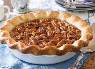 Chocolate Bottom Pecan Pie