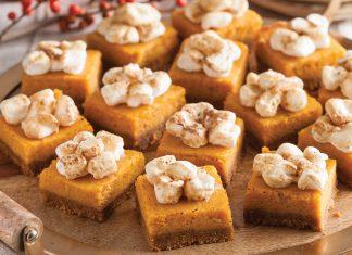 Sweet Potato Pie Bars