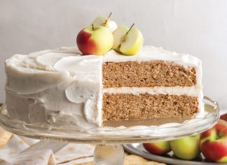 Apple Spice Cake with Browned Butter Frosting
