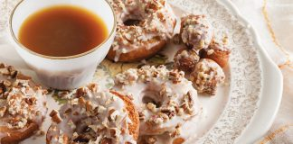 Spiced Cake Doughnuts