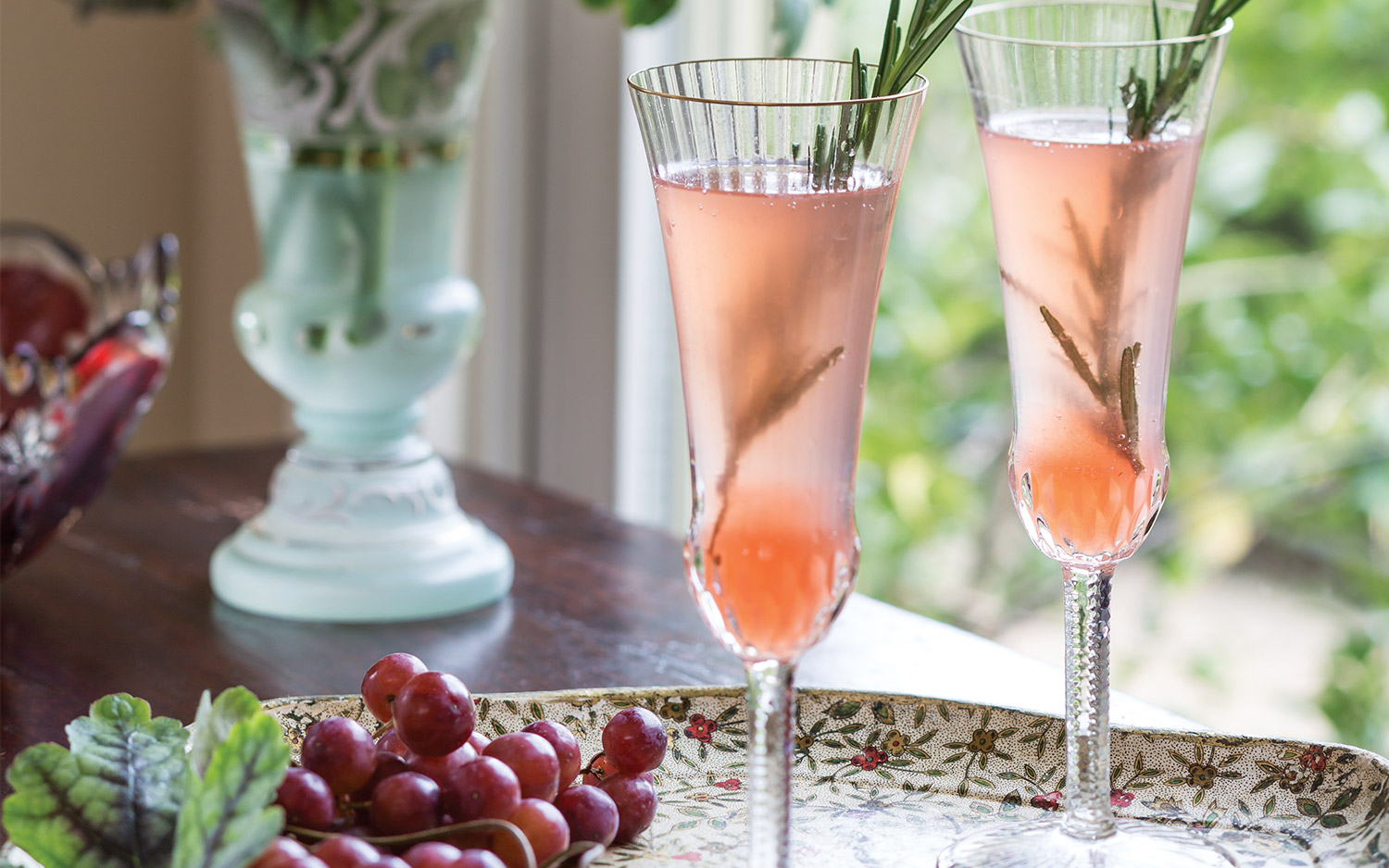 Grapefruit Bellinis