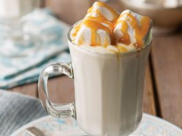 Caramel Hot White Chocolate