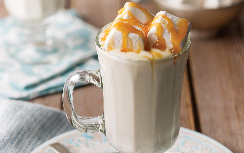 Caramel Hot White Chocolate