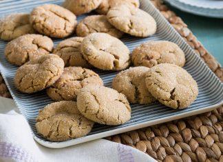 Sorghum Spice Cookies