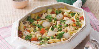 Chicken Primavera Soup