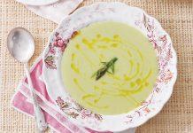 Asparagus-Fennel Soup