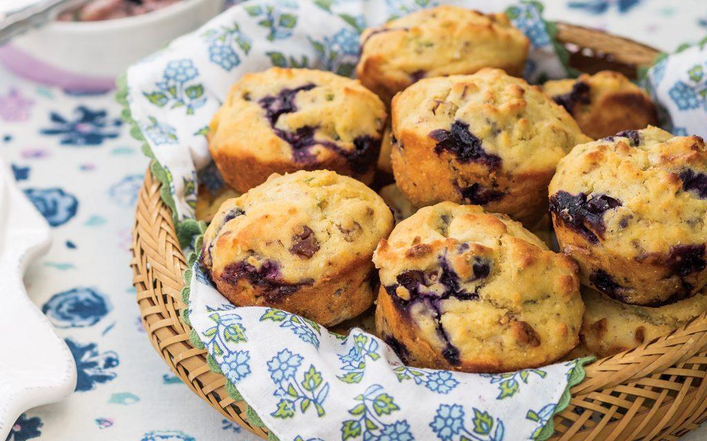 Blueberry-Jalapeño Muffins