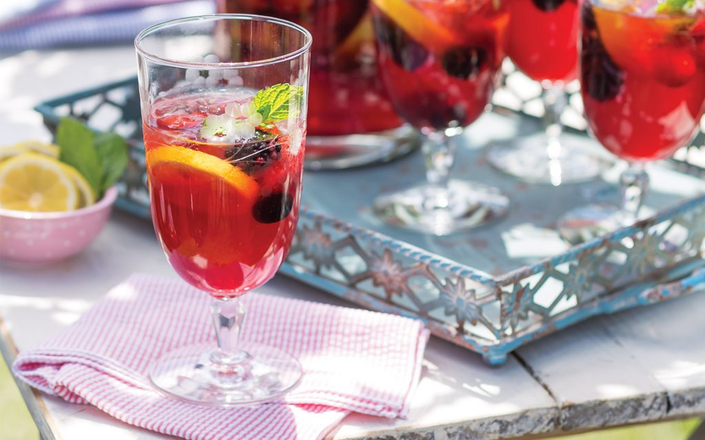 Berry-Lemon Tea