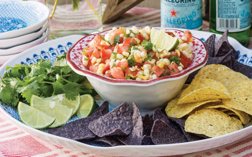 Fresh Corn and Tomato Salsa