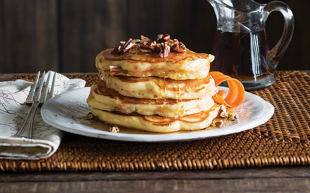 Carrot Buttermilk Pancakes