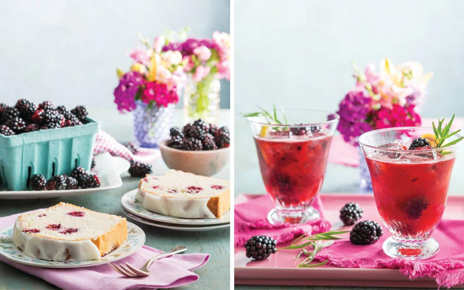 Four Summer Recipes Full of Bountiful Berries