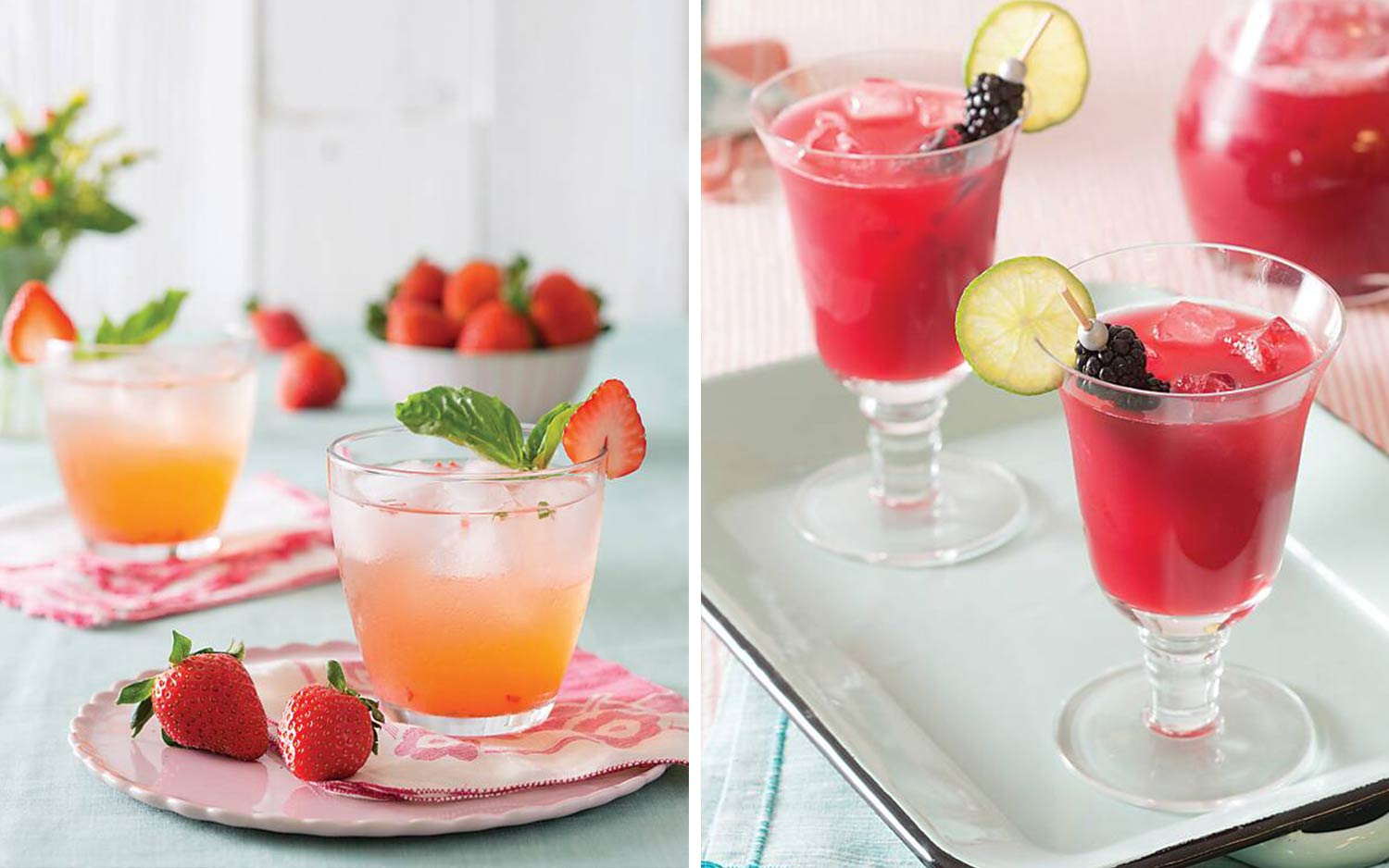 4 Refreshing Summer Sippers