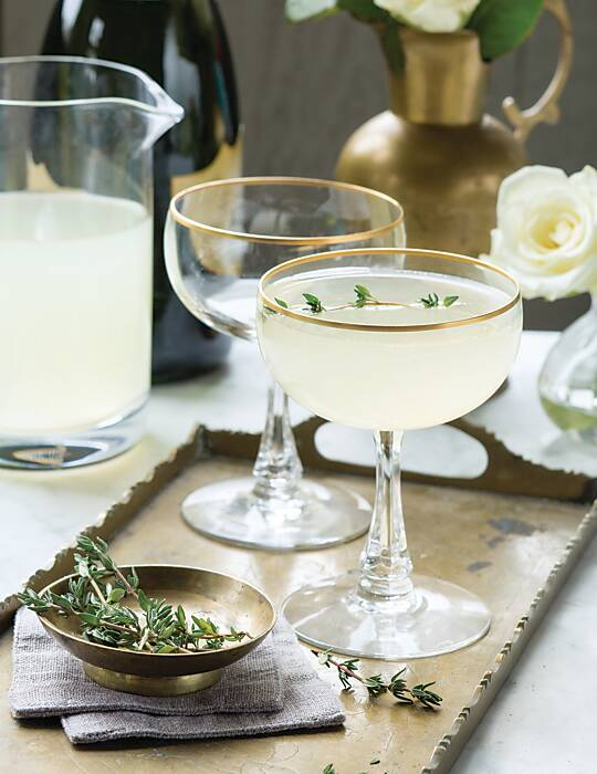 Pear French 75