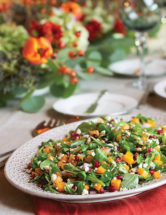 Butternut Squash-Farro Salad