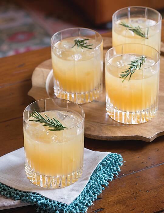 Rosemary Bourbon Sour