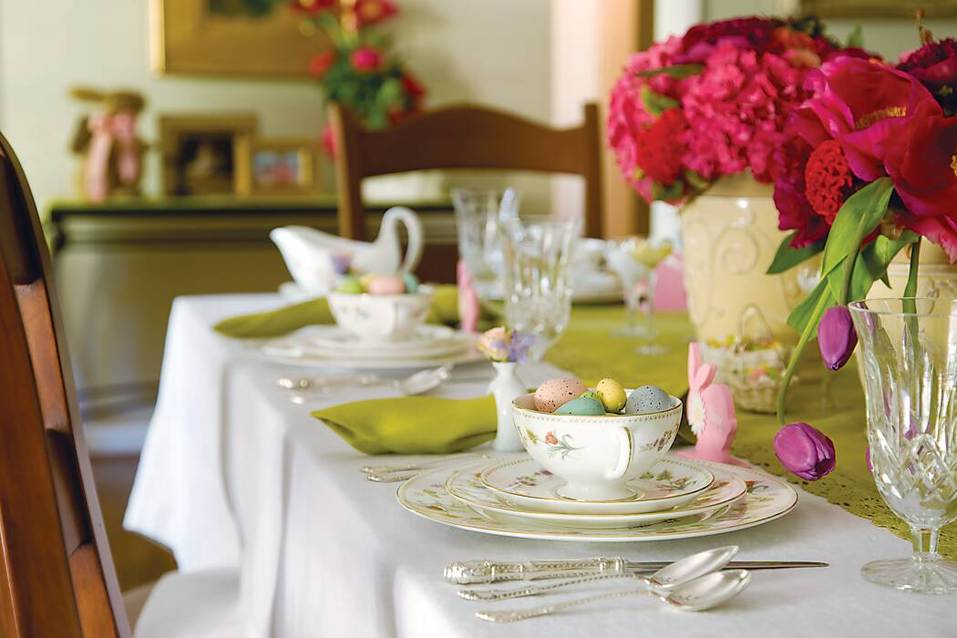 A Spring Menu with Easter Charm