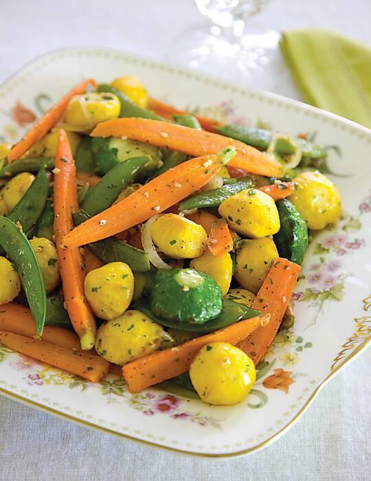 Spring Vegetable Medley